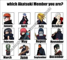 Anime/manga: Naruto (Shippuden) Characters: *don't feel like naming 12 people*, I am Sasuke.