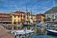 Bild 047 - Hafen Malcesine von Christian M. Wolf
