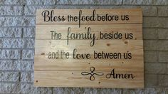 Check out this item in my Etsy shop https://www.etsy.com/listing/249460292/kitchen-sign-kitchen-decor-christian