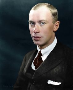 Russian composer Serge Prokofiev (1891-1953)