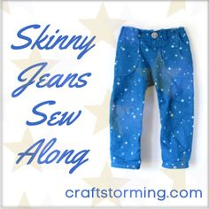 Skinny Jeans Sew Along: starts the 19th of August with free size 2T pattern