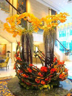 hotel flowers | Island Shangri-la Hotel Flowers #HongKong