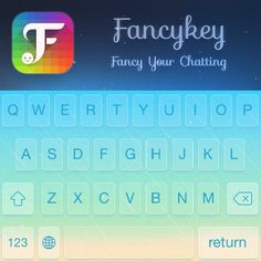See how fancy my keyboard looks like with @FancyKey! ✊ http://dl2.fancykeyapp.com