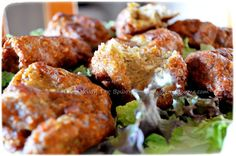Κοτοκεφτεδάκια με μανιτάρια Tandoori Chicken, Ethnic Recipes, Food, Meals, Yemek, Eten