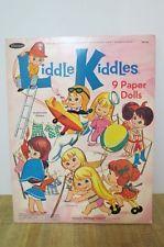 whitman liddle kiddles 9 paper dolls 1967