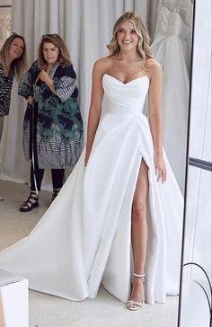 Wedding Bridesmaid Dresses, Dream Wedding Dresses, Bridal Dresses, Prom Dresses, Perfect Wedding Dress, Wedding Looks, Bridal Looks, Dream Dress, I Dress