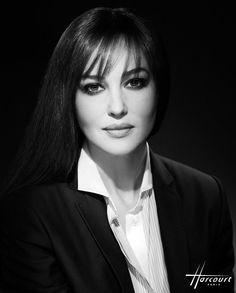 Monica Bellucci by Studio Harcourt Paris