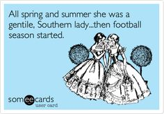 Football season, y'all!