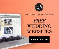 Get a free Wedding Website With wedding paper divas. Now until 2/18/2014 25% off invitations with code: VALWED14