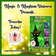 Oh My Goddess! Hex Drive Collection by  Renee George is now available for preorder!  #MagicMayhemUniverse #PNR #preorder #comingsoon #ebooks #magicaltales