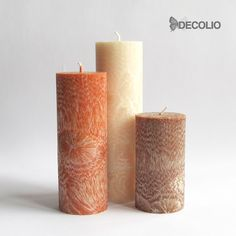Decolio Crystal Candles - Cinnamon