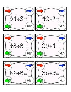 "This is an exciting subtraction twist on the traditional ""Rock, Paper, Scissors"" hand game. (aligned with Common Core Standards) Fourth Grade Math, 3rd Grade Classroom, Math Classroom, Classroom Ideas, Classroom Freebies, Future Classroom, Math Stations, Math Centers, Math Resources"