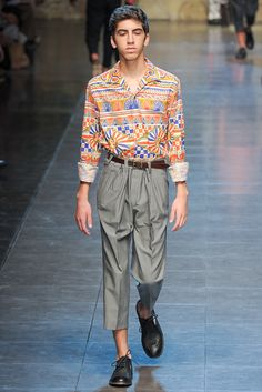 70s print, high waisted trouser, nono's shoes