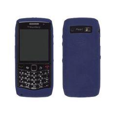 OEM Blackberry Pearl 9100 3G Silicone Skin Case (Dark Blue)