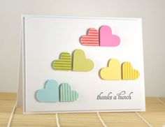hearts as clouds...how sweet.