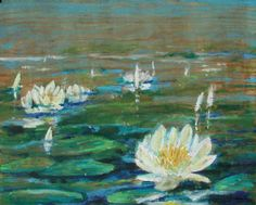 """""""Lilie"""" / """"Lilies"""" 32x38,5 cm"""