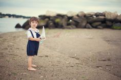kids beach photography ideas | Sailor themed photography session for a toddler boy - Stamford, CT ...