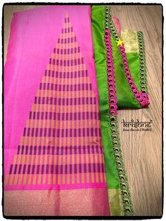 Saree Tassels Designs, Saree Kuchu Designs, Blouse Designs Silk, Fancy Sarees, Designer Socks, Signature Design, Saree Blouse, Uni, Free Crochet