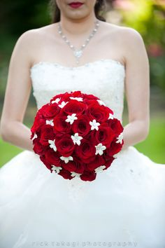 Red bouquet by Rick Takagi