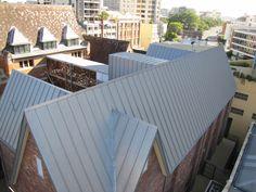 Natural Zinc Roofing Brisbane.