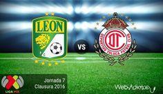León vs Toluca, Jornada 7 del Clausura 2016 ¡En vivo por internet! - https://webadictos.com/2016/02/20/leon-vs-toluca-clausura-2016/?utm_source=PN&utm_medium=Pinterest&utm_campaign=PN%2Bposts