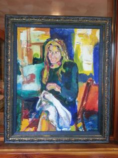 Cady McDonnell Portrait by Barbara Caldwell 1998
