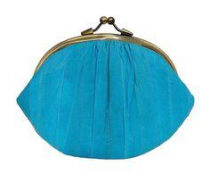 Granny Purse Turquoise
