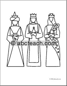 Christmas Arts And Crafts, Christmas Projects, 3 Reyes, King Craft, Christmas Nativity Scene, Nativity Scenes, King Drawing, Nativity Silhouette, Outdoor Nativity