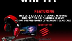 Win It! MadCatz Gaming Prize Pack GIVEAWAY!..View at http://www.geekmagazine.org/2013/04/04/win-it-madcatz-gaming-prize-pack-giveaway/