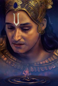 Saurabh Raj Jain as Krishna Vasudeva in Mahabharata (series about Abhimanyu's death) Krishna Avatar, Krishna Leela, Cute Krishna, Jai Shree Krishna, Radha Krishna Photo, Radha Krishna Love, Radhe Krishna, Baby Krishna, Hanuman