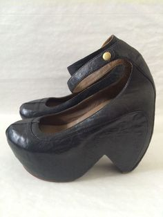 Buckle Medium (B, M) Block 10 Sandals & Flip Flops for Women Mary Jane Heels, Flip Flops Damen, Club Shoes, Womens Flip Flops, Flip Flop Sandals, Mary Janes, Black Leather, Size 10, Wedges