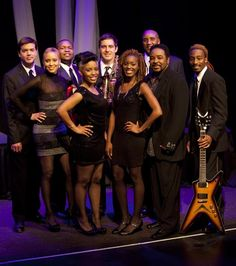Jump Street, a premier show and dance band with world-class musical talent, performs dance hits from every era on August 24 at Reston Town Center