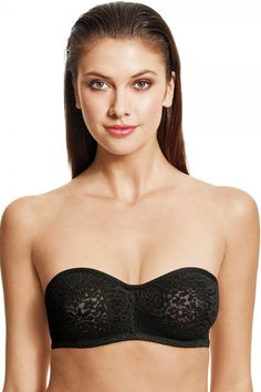 8b366f23e0e Wacoal Halo Lace Strapless Bra. This strapless bra is so comfortable and  versatile you