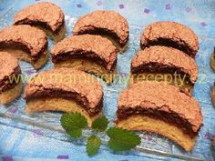 Francouzské řezy – Maminčiny recepty Christmas Baking, Christmas Cookies, Creative Cakes, Desert Recipes, Graham Crackers, Nutella, Rum, Cheesecake, Deserts