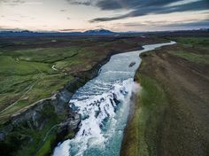 Iceland Aerial Landscapes on Behance