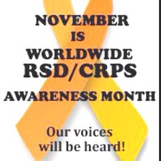 RSD/RND/CRPS is a rare and painful nerve disease for which there is no cure. Patients with RND feel pain 10x more than a normal person. I have total body RND