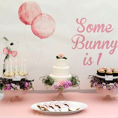 Some Bunny Is 1! A Very Hoppy Birthday Party