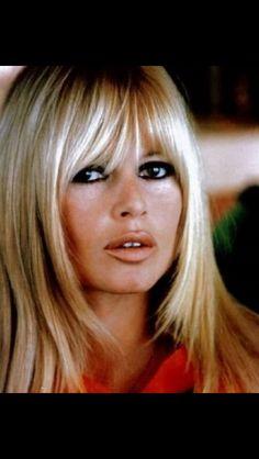Bardot in the 1960s. Perfect haircut, perfect makeup. Biddy Craft