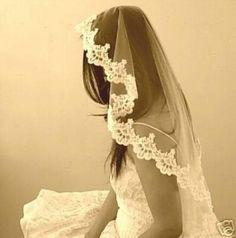 Vintage Wedding Veil Mantilla