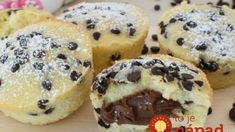 Muffin Nutella, Muffins, Cake Factory, 4 Ingredients, Food And Drink, Cupcakes, Treats, Cookies, Baking