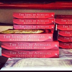 """Let's admire this big stash of """"The Song of Achilles"""" ..."""