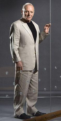 Godfather of British acting: Sir Anthony Hopkins