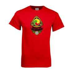 American Motorcyclist Association Red T Shirt Charter Life Member