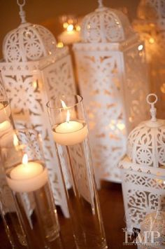 lanterns and candles - Morroccan
