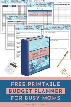 You won't believe the amazing pages this free printable budget planner has inside! There are monthly budget trackers, yearly trackers, no spending challenges, debt tracker, and so much more! 101 pages in all! #freebudgetplanner #freeprintablebudgetplanner #freebudgetbinder #freeprintable #freeprintables #budgetplanner #budgetbinder #freebies #printables #free8x10printables