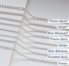 Silver Necklace For Girl Diy Jewelry Necklace, Necklace Types, Necklace Chain, Silver Jewelry, Wire Jewelry, Jewelry Art, Silver Earrings, Jewelry Design Drawing, Jewelry Supplies