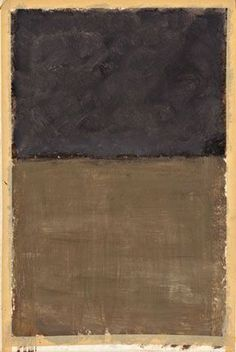 Daily Rothko — Mark Rothko, The Dark paintings Part Mark Rothko Paintings, Rothko Art, Dark Paintings, Franz Kline, Abstract Painters, Abstract Art, Art Moderne, Brown And Grey, Vincent Van Gogh