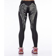 Sexy Women Sport Gym Leggings Yoga Jogging Running Fitness High Waist Pants