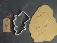 Mad hatter Alice in Wonderland cookie cutter 3D by Printmeneer