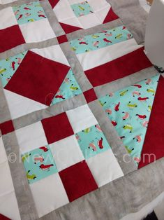 A pattern and tutorial for 12-block sampler quilt that's perfect for beginning quilters. Includes a complete pattern for the sampler quilt, plus patterns and instructions for the twelve basic quilt blocks that go into the sampler. You will also learn how to add sashing and borders to your quilt. #quiltblockseasy, #quiltblockspatterns, #samplerquiltpattern, #quiltingbook, #howtoquilt, #quiltingforbeginners